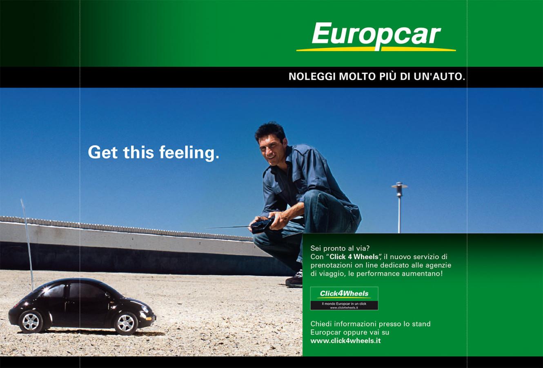 Marketing e Comunicazione   Europcar - Depliant